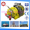 Air Winch with Capacity of 30kn for Dragging/Pulling Load with ABS/CCS/Dnv Certificate
