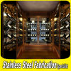 Hot Sale Customized Stainless Steel Wall Wine Storage Rack
