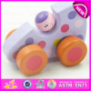 Hot Promotional Colorful Wooden Baby Toy Car, Best Sale Top Grade Wooden Mini Toy Car Baby Car Toys W04A178A
