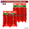 Christmas House Decorative Velvety Mini Bows Party Products (CH8058)