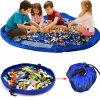 Children's Kids Play Mat Toys Organizer Quick Pouch Toy Storage Bag