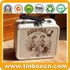 Small Tin Suitcase with Handle and Lock for Lunch Box