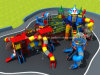 Outdoor Equipment Preschool Playground with Pipeline Slide