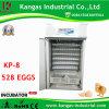 CE Certified Automatic Egg Incubator Chicken with Best Price (KP-8)