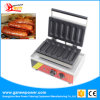 Commercial Electric Hot Dog Waffle Maker with Ce/Milk Hot Dog Machine