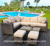 Multifunction Patio Corner Outdoor Sofa Sets Garden Rattan Furniture
