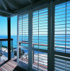 Aluminum Alloy Rain-Proofing and Wind-Proofing Louver Window