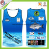 OEM Sports Vest Tank Top Cheap Custom Sublimated Running Singlet