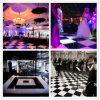 Party Events Wedding Dance Floors Black White Wooden Dance Floor Wholesale