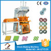 Easy Operate Hand Operated Concrete Hollow Block Making Machine QTY2-20
