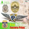 Cheap Custom Fashion Flower Logo Promotion Soft Hard Enamel Brass Gold Silver Flag Brooch Safety Medal Metal Badge Lapel Pin for Promotional Gift (No minimum)