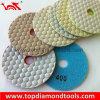 Angle Grinder Polishing Pads with Dry Polishing
