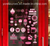 PVC Wall Stickers of Restaurant/Emporium