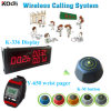 Any Language Any Logo Accept Strong Signal Equipment K-336+Y-650+K-M Waiter Calling System