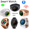 Bluetooth Smart Watch with Round Screen & Heart Rate Monitor (K89)