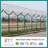 Security Welded Mesh Airport Fence /Airport Prison Barbed Wire Fence