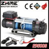 9500lbs Recovery Synthetic Rope Electric Winch with Remote Control