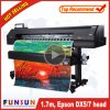 Hot Selling Funsunjet Fs-1700k 1.7m Outdoor Wide Format Printer with One Dx5 Head for Vinyl Sticker Printing
