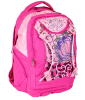 2016 fashion Rose Red School Backpack Bag, Girl′s Backpack