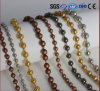 Decorative Copper Color Metal Bead String Curtain