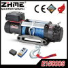 15000lbs Recovery Electric Winch with Synthetic Rope for Truck