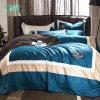 Comfortable King 4PCS Single Navy Blue Bedding Set