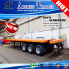 CIQ 3-Axle Container Flatbed 40FT Semi Trailer for Djibouti