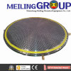 Forging PAR Texplosive Bonding Bimettalic Tube Sheet