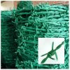 PVC Coated Hot Galvanized Barbed Wire Fence