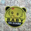 New Model UV Protected Customized Baby on Board Sticker Custom Baby on Board Car Sticker