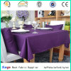 PU Coated 100% Polyester Oxford 300d Fabric for Table Cloth with Wr