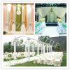 100% Polyester Color Satin Fabric for Wedding Dress/Chair/Table/Ect