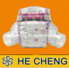 OEM Wholesale Disposable Baby Diaper with Cute Printed
