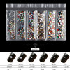 2018 Wholesale New 3D Charms Gems Decoration Colorful Crystal Nail Rhinestones for Nail Art