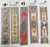 Oriental Design Bookmarks, Customized Persian Bookmarks