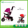 2017 New Kids Baby Tricycle / Cheap Price Kids Metal Tricycle with Back Seat / 3 Wheels Tricycle for Children Top Quality