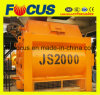 High Productivity Js2000 Twin Shaft Concrete Mixer