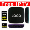 Custom Made T1 S905W Free IPTV Amlogic 1GB 8GB T95 R1 Quad Core Android 7.1 TV Box with Customized Fully Loaded 4K Media Player