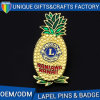 Promotion High Quality Pineapple Badge Custom Fruit Lapel Pin