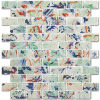 Swimming Pool Kithcen Bathroom Glass/ Crystal/ Stone Mosaic Glazed/ Polished Porcelain Ceramic Flooring Tile