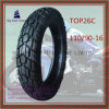 110/90-16 Tubeless, Long Life 6pr Nylon Motorcycle Tyre