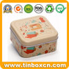 Mini Square Metal Can Gift Tin Box for Sewing Storage