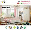 Home Furniture Korean Style Wooden Bedroom Furniture (A102)