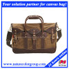 Mens Casual Fashion Waxed Canvas Traveling Leisure Tote Bag