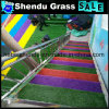 Artificial Turf with Green Color and 20mm Thickness for Staris