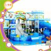 Snow Theme Indoor Soft Playground Slide
