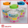 3700ml Plastic Pet Wide Mouth Candy Jar, Cosmetic Jar with PP Lid