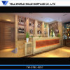 Modern Tropical I Shaped Bar Counter