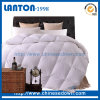 White Alternative Hotel 100% Cotton Down Comforter China Supplier 5 Star Hotel Luxury King Microfober Quilt