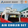 Air Finned Cooler with Header Structures